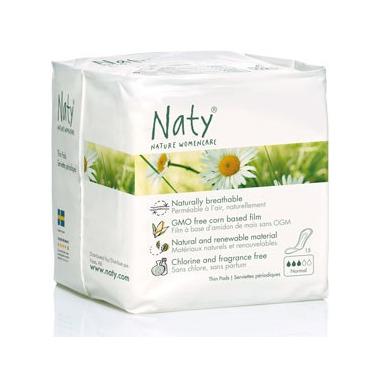 Naty Nature Womencare Sanitary Napkins Normal