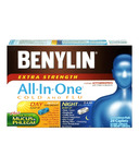 Benylin All-In-One Extra Strength Cold & Flu Caplets