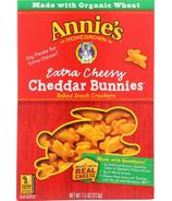 Annie's Homegrown Organic Extra Cheesy Cheddar Bunnies