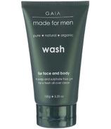 Gaia Made For Men Face & Body Wash