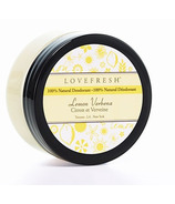 Lovefresh All-Natural Cream Deodorant Pot Lemon Verbena