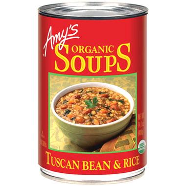 Amy\'s Organic Tuscan Bean & Rice Soup