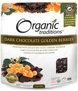 Organic Traditions Dark Chocolate Golden Berries
