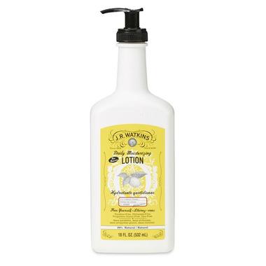 J.R. Watkins Moisturizing Body Lotion Pump Lemon Cream
