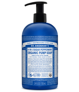 Dr. Bronner's 4-in-1 Sugar Peppermint Organic Pump Soap