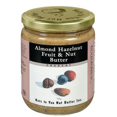 Nuts to You Almond Hazelnut Fruit & Nut Butter