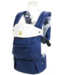 Lillebaby Complete Embossed Blue Baby Carrier