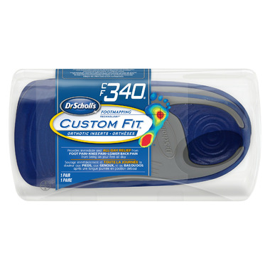 Dr. Scholl\'s Custom Fit Orthotic Inserts CF 340