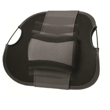 Obus Forme Massaging Lumbar Support Rest with Massaging Pillow