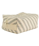 Fluf Grey Stripe Travel Case