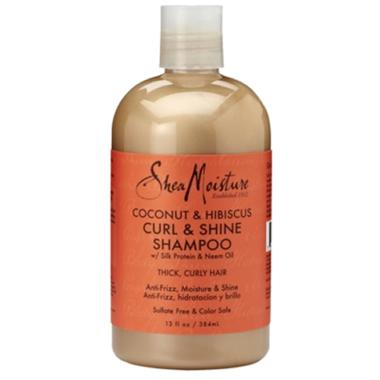 Shea Moisture Coconut & Hibiscus Curl & Shine Shampoo