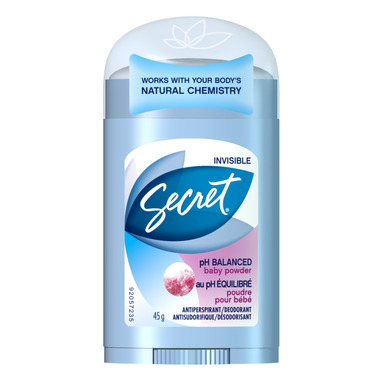Secret Invisible Solid Anti-Perspirant
