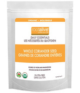 Rootalive Organic Whole Seed Coriander