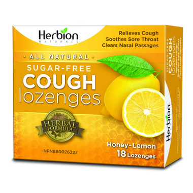 Lemon lozenges