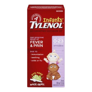 Infants\' Tylenol Fever & Pain Suspension Drops