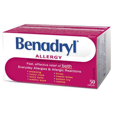 Buy Benadryl Allergy Caplets At Well Ca Free Shipping