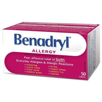 Benadryl powder