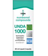 UNDA Numbered Compounds UNDA 1000 Homeopathic Preparation