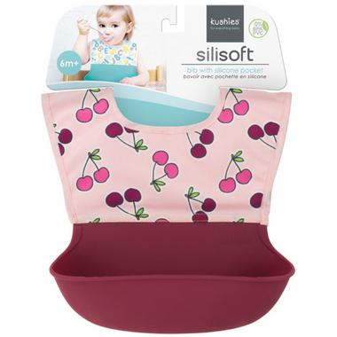 Kushies Silisoft Bib with Pocket