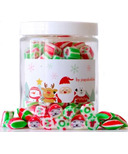 papabubble Exclusive Handcrafted Candies Holiday Jar