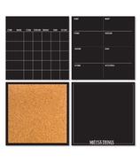 WallPops Black Dry Erase Organization Kit