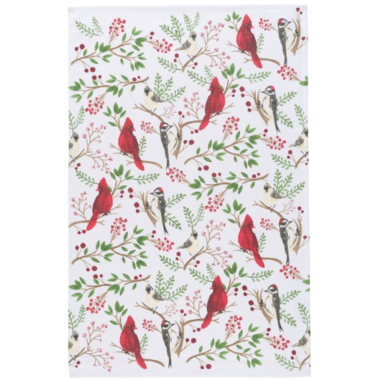 Now Designs Winter Birds Dish Towel