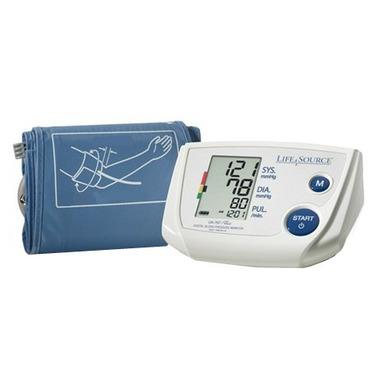 LifeSource Blood Pressure Monitor One Step Plus Memory