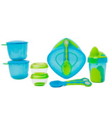Vital Baby 8 Piece Start Weaning Kit Blue