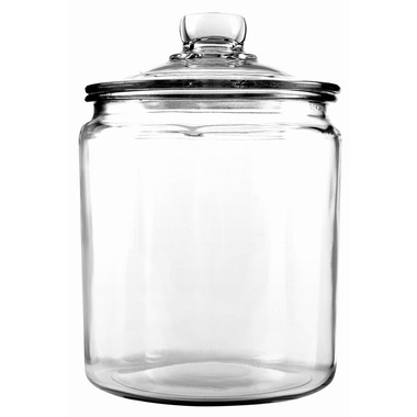 Anchor Hocking Heritage Hill 1/2-Gallon Storage Jar