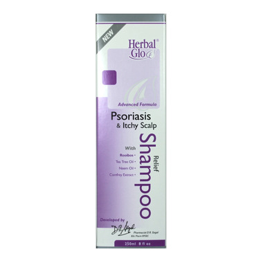 Herbal Glo Psoriasis & Itchy Scalp Relief Shampoo
