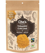 Cha's Organics Turmeric Ground