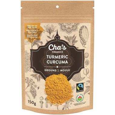 Cha\'s Organics Turmeric Ground