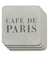 Now Designs Cafe de Paris Coasters Set