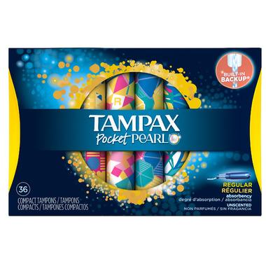 Tampax Pocket Pearl Tampons Regular
