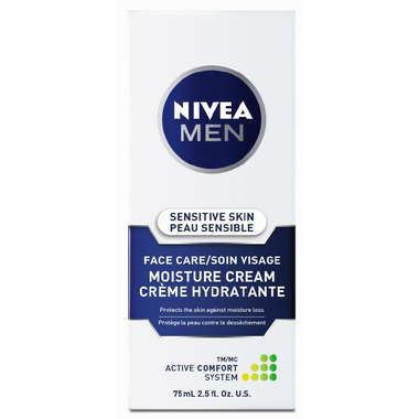 Nivea Men Sensitive Skin Face Care Moisture Cream