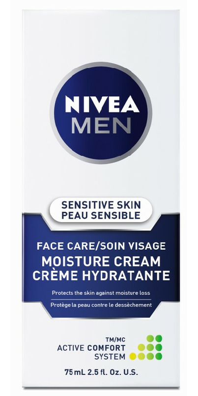 Nivea Men Sensitive Skin Face Care Moisture Cream
