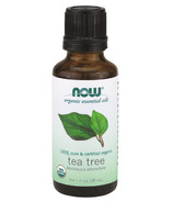 NOW Essential Oils Organic Tea Tree Oil