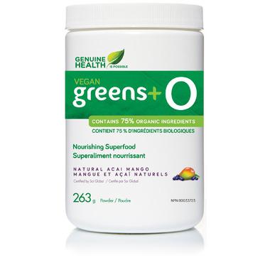 Genuine Health Vegan Greens+ O