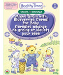 Healthy Times Organic Mixed Grain with Blueberries Cereal for Baby
