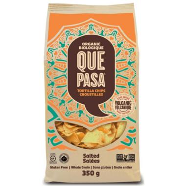 Que Pasa Salted Organic Tortilla Chips