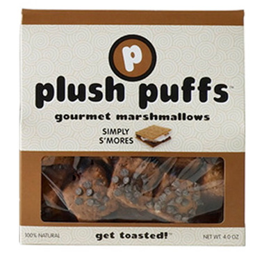 Plush Puffs Simply S\'mores Gourmet Marshmallows