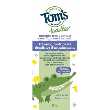 Tom\'s of Maine Toddler Training Toothpaste Mild Fruit