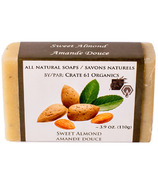 Crate 61 Organics Sweet Almond Soap