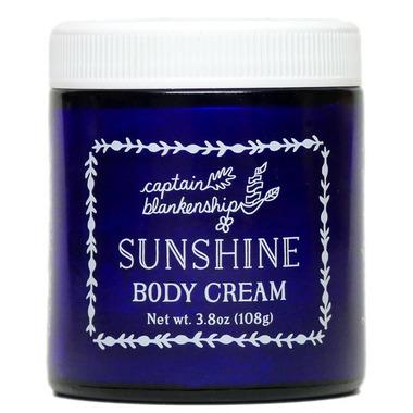 Captain Blankenship Sunshine Body Cream