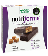 Adrien Gagnon Nutriforme Meal Replacement Bar Crispy Caramel