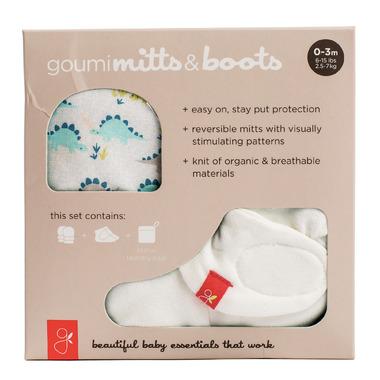 goumikids goumimitts and goumiboots Dino-Rawr Bundle