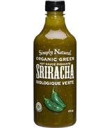 Simply Natural Organic Green Sriracha Hot Sauce