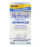 Refresh Optive Advanced Lubricant Eye Drops