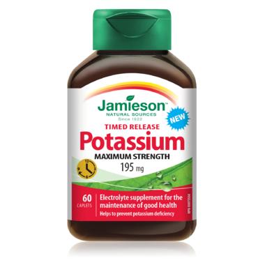 Jamieson Time Release Potassium 195mg