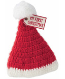 Mud Pie My First Christmas Knit Hat